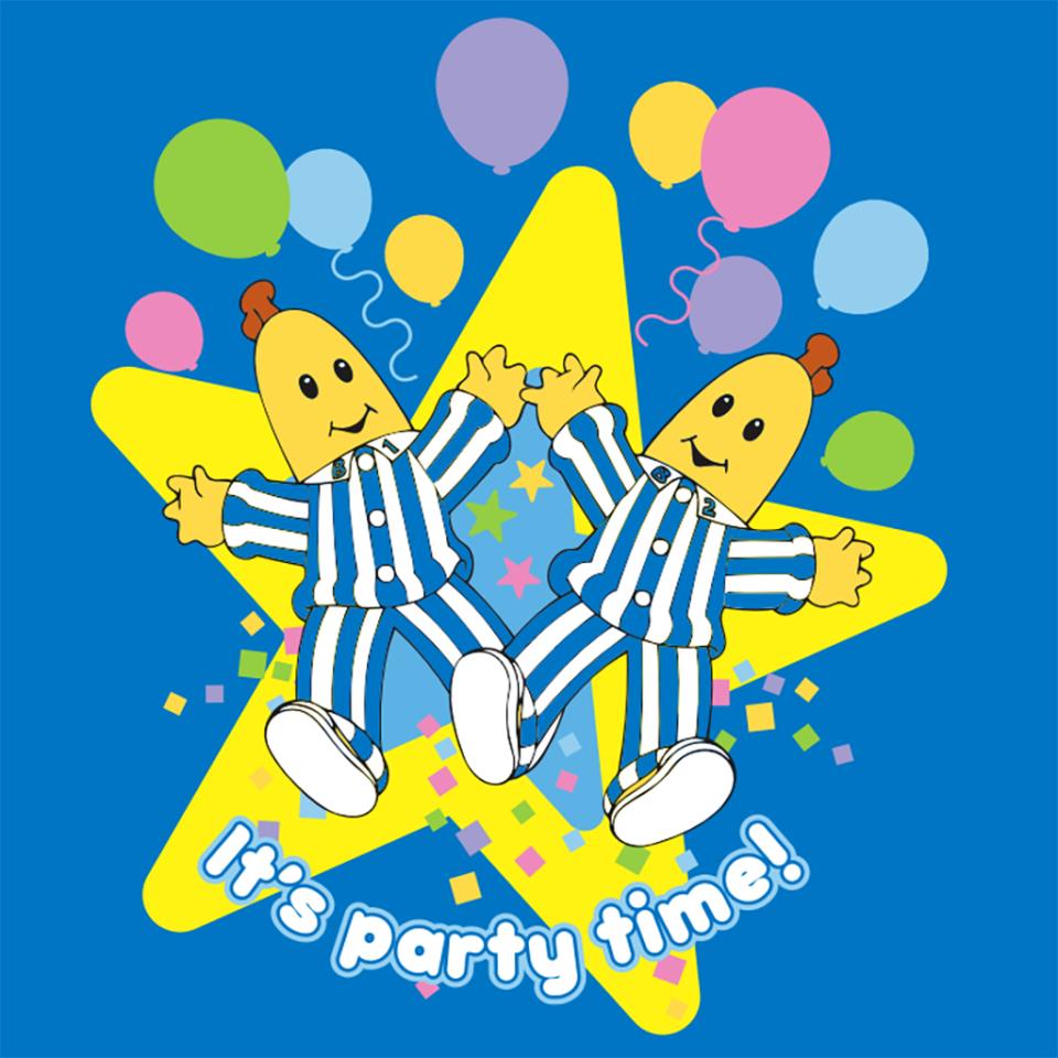 Happy Birthday from the Bananas in Pyjamas