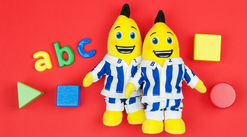 Learning with Bananas in Pyjamas Toys