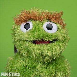 Oscar the Grouch Stuffed Toy
