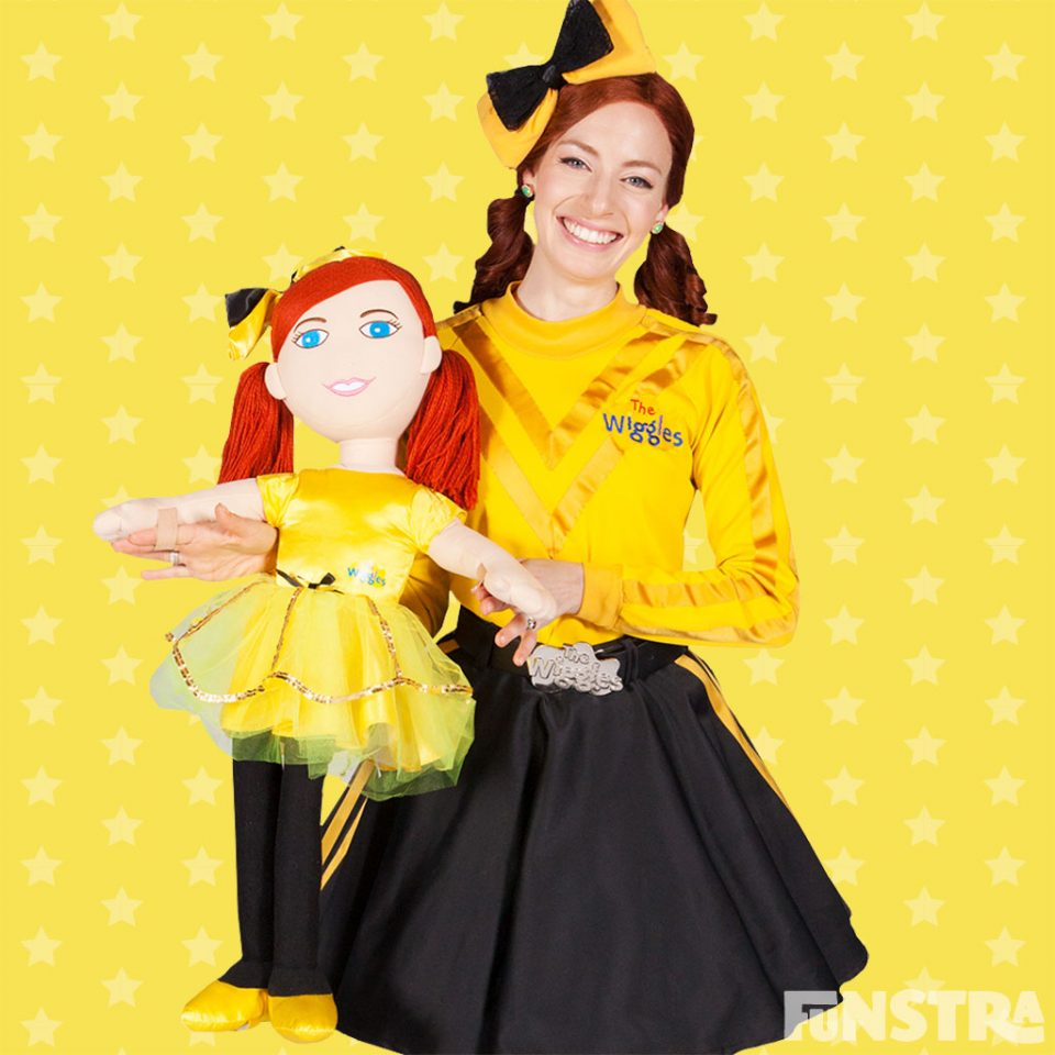Emma Wiggle Yellow Shoe Bows Gift Costume The Wiggles Party Supplies