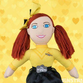 Yellow Wiggle Doll