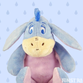 'It never hurts to keep looking for sunshine.' Cuddle everyone's favorite donkey, Eeyore plushy.