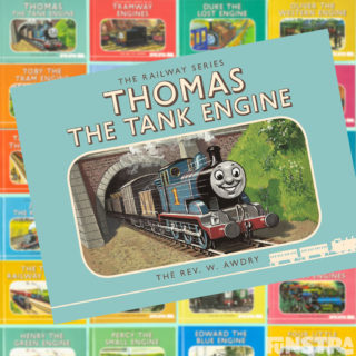 Railway enthusiasts will love to read of the beginnings of Thomas the Tank Engine and his locomotive friends on the Island of Sodor in The Railway Series story books by Rev. Wilbert Awdry and his son Christopher Awdry.