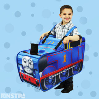 Dress up as the number one locomotive on the railway with fun fun mini driver costume, perfect for dress ups, role play and children's birthday parties.