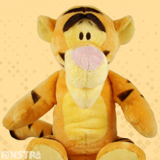 'But the most wonderful thing about tiggers is. I'm the only one.' Tiggers are cuddly fellas. Cuddle Tigger stuffed animal.