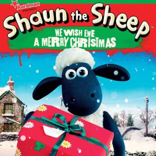 We wish ewe a Merry Christmas from Shaun the Sheep!