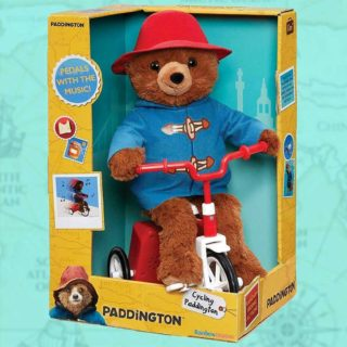 Cycling Paddington Bear is now off on his bike and ready for plenty of fun and adventuring as he cycles around randomly on his red bicycle to a catchy tune!