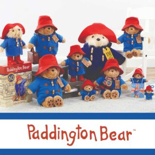 Paddington Bear Classic collection to commemorative the 60th Anniversary of the late Michael Bond's best-selling storybook character. Created from the highest quality super soft fabrics with exquisite detailing.
