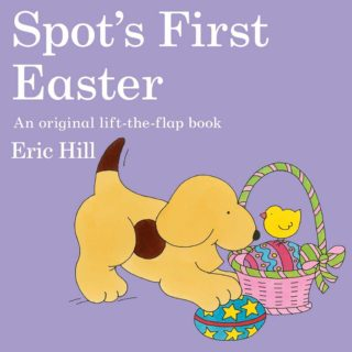Spot goes on an exciting Easter hunt in 'Spot's First Easter' by Eric Hill.