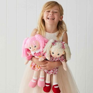 Playing with dolls, whether it's a baby doll, rag doll or fashion doll, helps to develop your child's social skills, their sense of responsibility and empathy towards others.