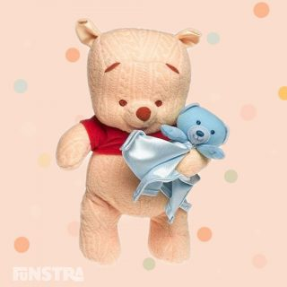 ♫ Winnie the Pooh, Winnie the Pooh, chubby little cubby all stuffed with fluff, he's Winnie the Pooh, Winnie the Pooh, willy nilly silly old bear. ♫ My First Winnie the Pooh plush soft toy by Fisher Price is a perfect gift for newborn baby.