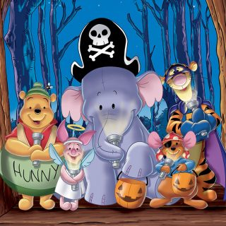 Pooh's Heffalump Halloween Movie is a sweet treat for the whole family, features Winnie the Pooh, Piglet, Tigger, Lumpy and Roo.