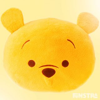 Collect the Pooh bear from the Tsum Tsum mini plush Winnie the Pooh collection by Disney.