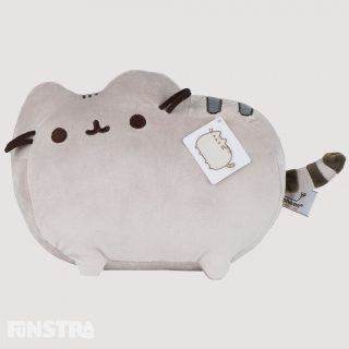 Pusheen plush soft toy in classic pose brings adorable web comic to life. Soft and huggable, like all geniune plushies from the GUND collection meets the famous GUND quality standards.