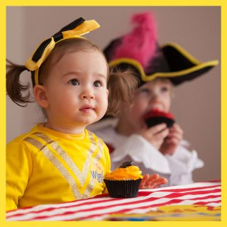 It's party time! Little Wigglers would love a Wiggles party theme, complete with decorations, cake and all dressed up as their favourite Wiggle.