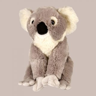 The Wild Republic Koala plush toy is a heart-warming stuffed animal with the lifelike appearance of a cuddly teddy bears that live in the eucalyptus forests of Australia. Wild Republic realistic stuffed toys are as close as you will get to wildlife, zoo animals and outdoor life.