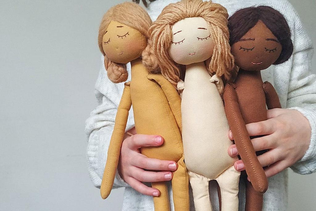 The Most Beautiful DIY Handmade Cloth Doll Patterns