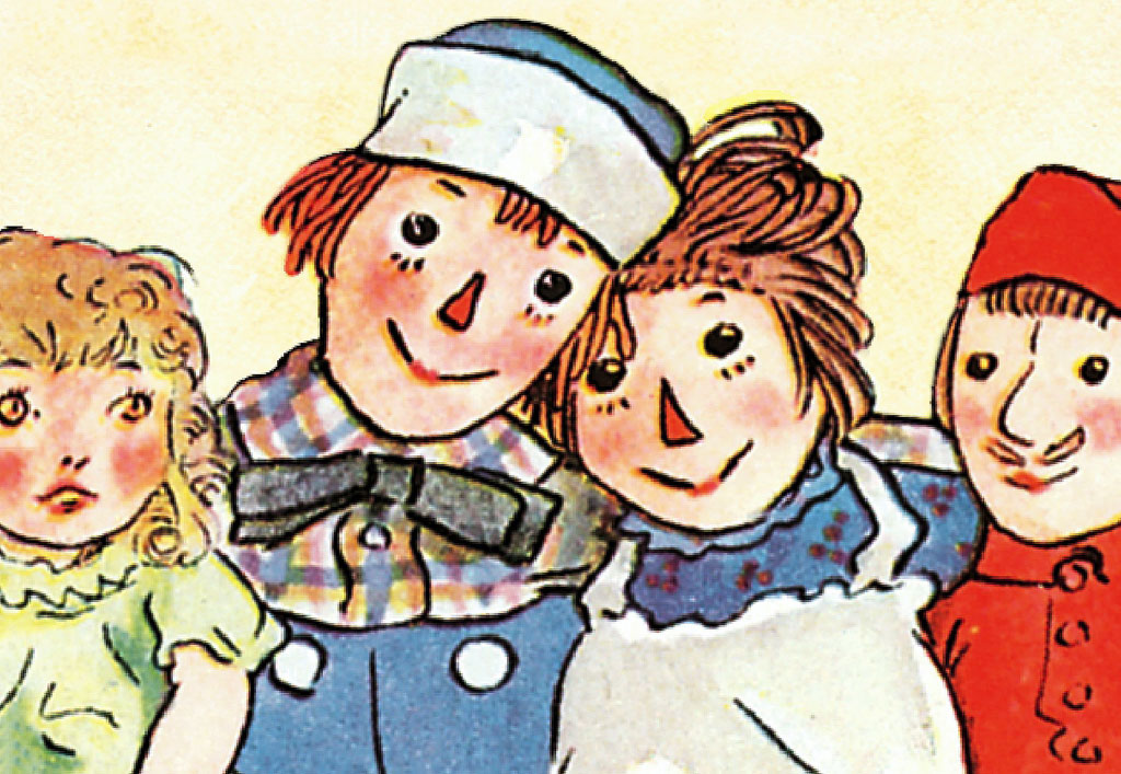 Nostalgic Toys From Your Childhood: Raggedy Ann & Raggedy Andy Dolls
