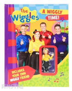 A Wiggly Time Book & Action Figure