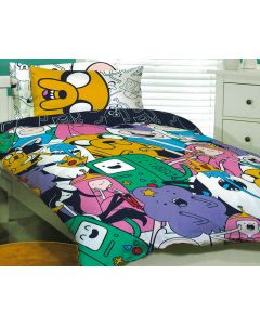 It's Adventure Time Quilt Cover Set