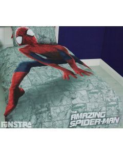 Amazing Spider-Man Quilt Cover Set