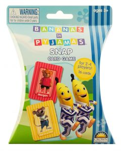 Bananas in Pyjamas Snap Card Game