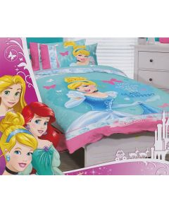 Cinderella Bedding Quilt Cover Set