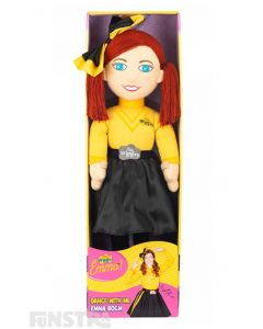 Dance and sing with your favourite yellow Wiggle with this extra large doll.