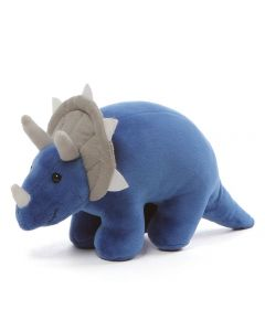 GUND Dino Chatter Triceratops Plush Soft Toy