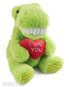 I Dig You Dinosaur Plush Toy