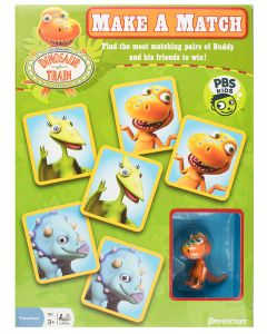Dinosaur Train Make a Match Game