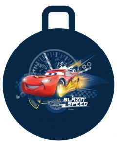 Bounce and hop with Lightning McQueen from Disney Pixar Cars at blazin' speed on this fun space hopper ball.
