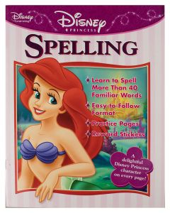 Disney Princess Workbook Spelling