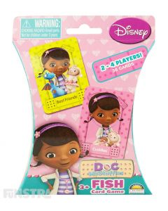 Doc McStuffins Fish Card Game