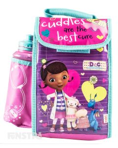 Doc McStuffins Lunch Bag with Bottle