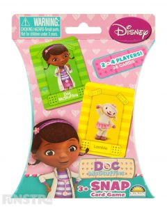 Doc McStuffins Snap Card Game