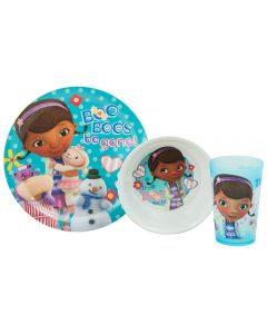 Doc McStuffins Dinner Set