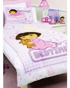 Dora Bedtime Quilt Cover Set