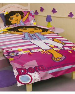 Dora Stripes Quilt Cover Set