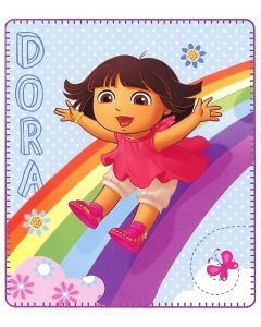 Dora the Explorer Rainbow Fun Blanket