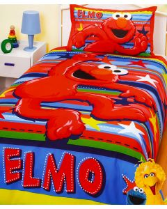 Elmo Stars Quilt Cover Set