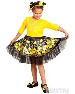 Twirl around and dance with Emma wearing a genuine Wiggles ballet costume that features a beautifully embellished bodice and tutu.