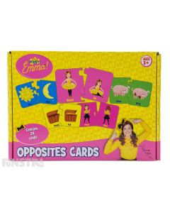 Emma Wiggle Opposites Cards