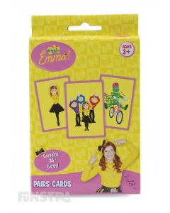 Emma Wiggle Pairs Card Game