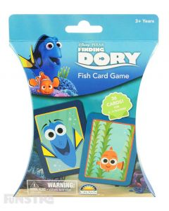 Finding Dory Fish Card Game