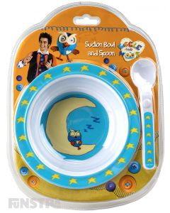 Giggle and Hoot Suction Bowl and Spoon