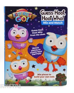 Guess Hoot, Hoot, Who! Book