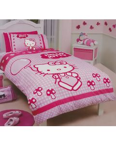 Hello Kitty Quilt Cover Set