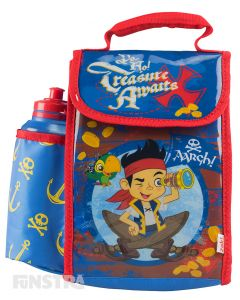 Jake and the Never Land Pirates Lunch Bag with Bottle