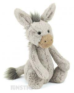 Jellycat Donkey Bashful Medium Plush Toy